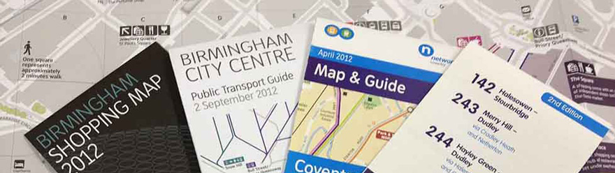 Printed maps and guides