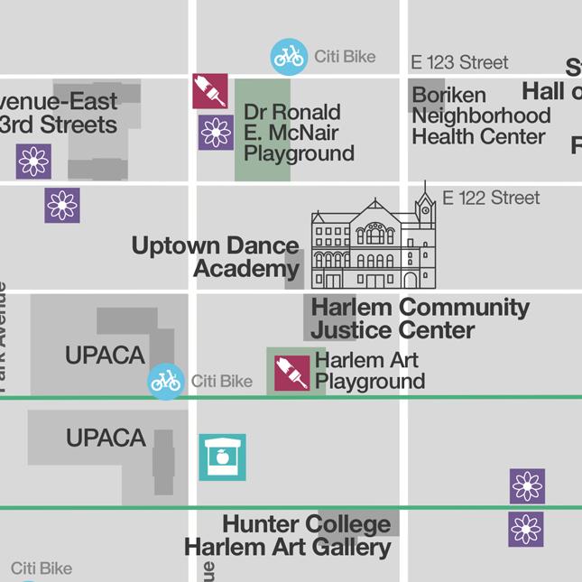 Community centres - WalkNYC wayfinding