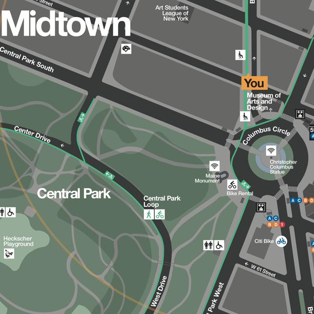 Parks - WalkNYC wayfinding