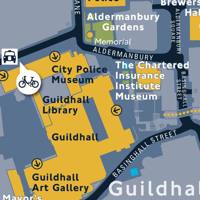 Public libraries - Legible London wayfinding