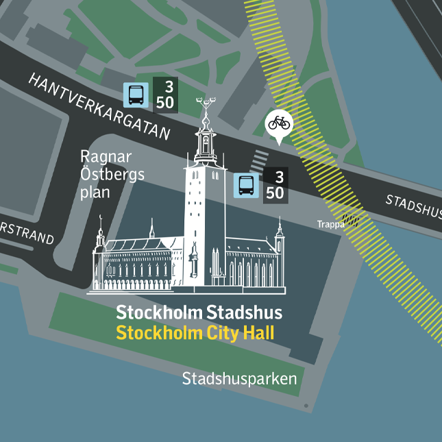 Riverbanks and waterfronts - Stockholm SL wayfinding