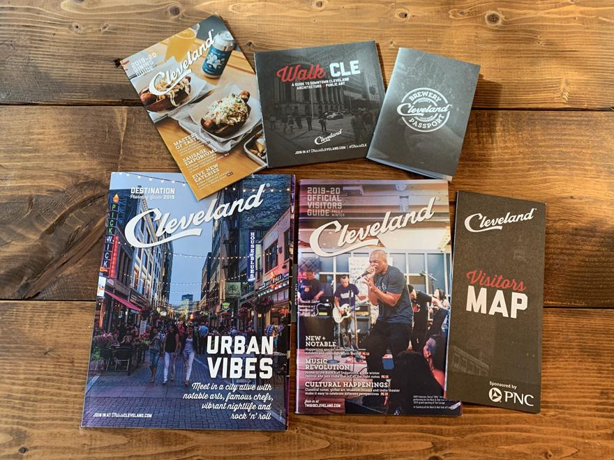 Destination Cleveland visitor guides
