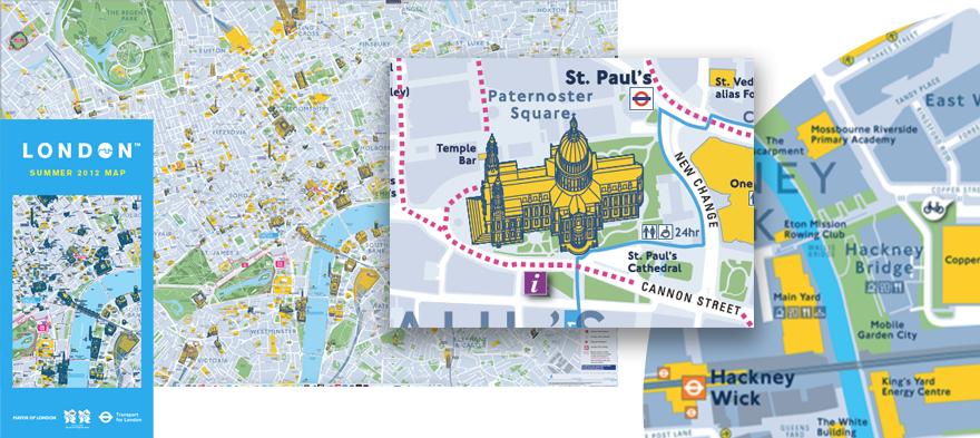 Legible-London-Olympics-host-city-map