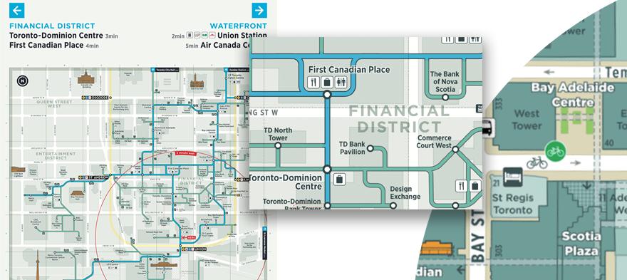 Toronto-PATH-map